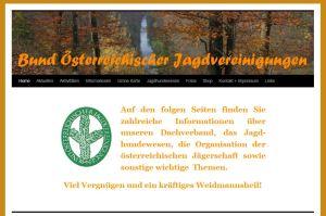 Homepage des Bundes Österreichischer Jagdvereinigungen