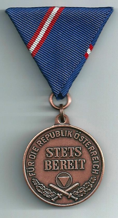 Wehrdienstmedaille in Bronze
