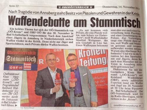 Krone-ORF-Stammtisch