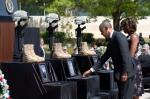 Barack Obama bei der Trauerfeier, © Pete Souza, http://www.whitehouse.gov/