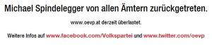 ÖVP überlastet